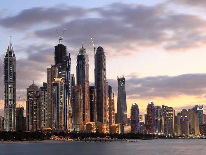 <strong>5. Dubai Marina bölgesi</strong>