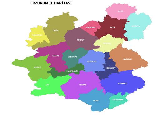 Erzurum İlçeleri